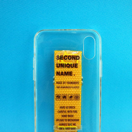 SECOND UNIQUE NAME iPhone・スマホケース 【NEW】「SECOND UNIQUE NAME」 CLEAR JELLY Belt 正規品(15)