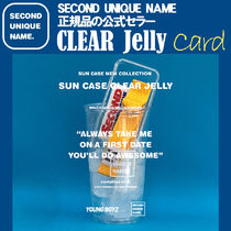 【NEW】「SECOND UNIQUE NAME」 CLEAR JELLY Card 正規品