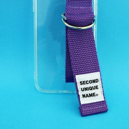 SECOND UNIQUE NAME iPhone・スマホケース 【NEW】「SECOND UNIQUE NAME」 CLEAR JELLY Card 正規品(12)