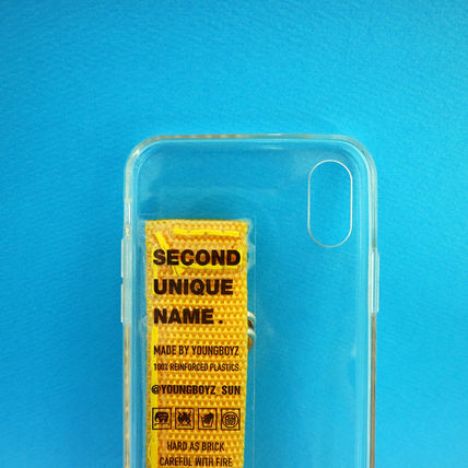 SECOND UNIQUE NAME iPhone・スマホケース 【NEW】「SECOND UNIQUE NAME」 CLEAR JELLY Card 正規品(16)
