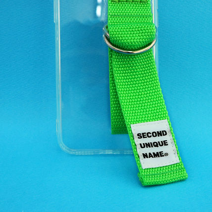 SECOND UNIQUE NAME iPhone・スマホケース 【NEW】「SECOND UNIQUE NAME」 CLEAR JELLY Card 正規品(18)