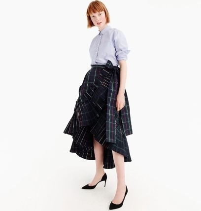 J Crew Collection ラッフルスカート 国内発送 関税込