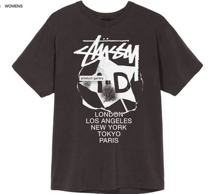 Stussy i-D INTL International Pigment Dyed Tee 限定コラボ T