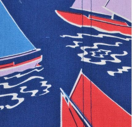 Cath Kidston エプロン 国内売り切れ品●追跡可能便サービス●Whitby Waters Navy(4)