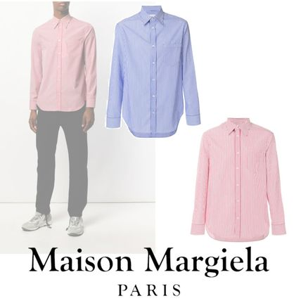MAISON MARGIELA【限定sale】striped fitted shirt