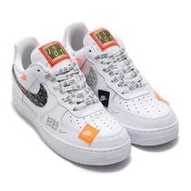 国内配送 NIKE AIR FORCE 1 '07 PRM JDI WHITE