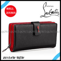 19New■Christian Louboutin■大人気 Paloma Wallet Black関税込