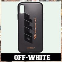 《最新作!!》18AW [OFF-WHITE] MODERN OBSTACLES iPhoneX ケース