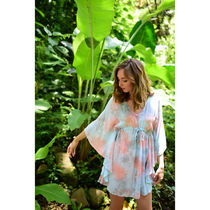 Angels by the Sea Hawaii(エンジェルズバイザシーハワイ) ブラウス・シャツ 送料込☆Angel by the Sea☆ Ocean Tunic in Smoke 2色