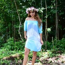 Angels by the Sea Hawaii(エンジェルズバイザシーハワイ) ワンピース 送料込☆Angel by the Sea☆ Ualani Short Dress in Wave