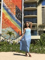Angels by the Sea Hawaii(エンジェルズバイザシーハワイ) ワンピース 送料込☆Angel by the Sea☆Lani Long Dress In Abstract 3色