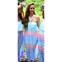 Angels by the Sea Hawaii(エンジェルズバイザシーハワイ) ワンピース 送料込☆Angel by the Sea☆ Lani Long Dress In Tie Dye