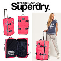Superdry(極度乾燥しなさい)★旅行や合宿に★ロゴキャリーバッグ