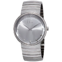 破格値 Dior(ディオール) La D De Silver Diamond Dial Ladies