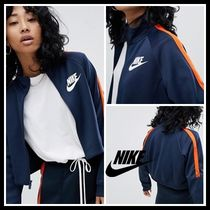 Nike N98 Polyknit Track Jacket In Blue And Orange ジャケット