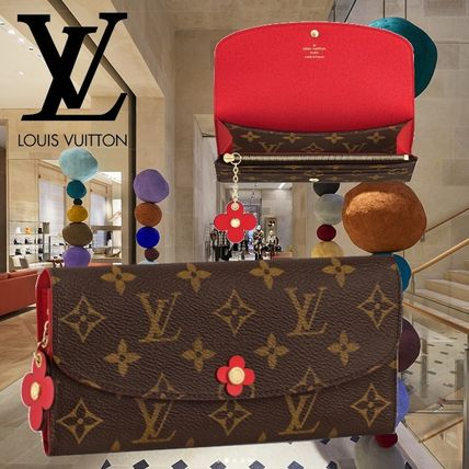 18AW Louis Vuitton(ルイヴィトン) PORTEFEUILLE EMILIE 長財布