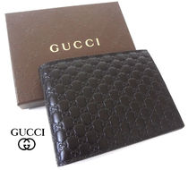 ★SALE【国内発送】GUCCI★マイクロGG コインケース付き 財布/黒