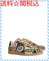 """MAISON MARGIELA """"REPLICA"""" SNEAKERS WITH PATCHES☆送料関税込"""