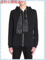 GIVENCHY CUBAN FIT HOODED SWEATSHIRT WITH PRINTED SILK