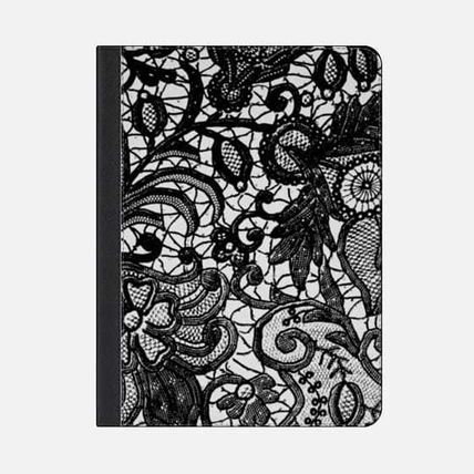 Casetify iPad・タブレットケース ★Casetify★iPadケース*BLACK ELEGANT LACE