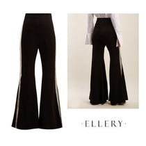 ELLERY(エレリー) パンツ 【ELLERY】Lovedolls wide-leg satin trousers