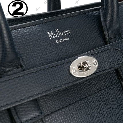 Mulberry ハンドバッグ ◆VIP◆ キャサリン妃愛用  Mulberry Bayswater Zipd (Mini) Bag(9)