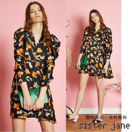 Sister Jane*Orange Blossom*シャーリングドレス