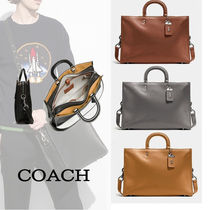 Coach(コーチ) Rogue brief Pebble Leather