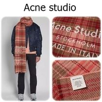 NEW Acne Studios Cassier Check スカーフ