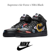 ☆送料無料  Supreme×Nike Air Force 1 NBA Black 間税込☆