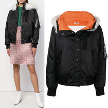 MM556 DOWN BOMBER JACKET