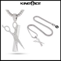 King Ice Barber Shop and Scissors  ネックレス【関税送料込】