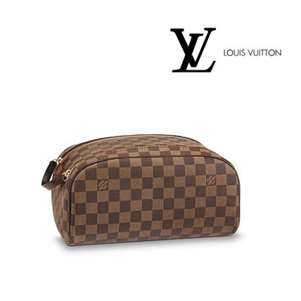 Louis Vuittonルイヴィトン◇ダミエ◇トラベルポーチ KING SIZE