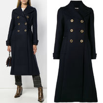 MM559 DOUBLE BREASTED WOOL COAT