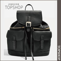 【国内発送・関税込】TOPSHOP★Double Pocket Backpack