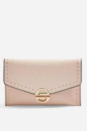 TOPSHOP クラッチバッグ 【国内発送・関税込】TOPSHOP★Candice Stud Clutch Bag(2)