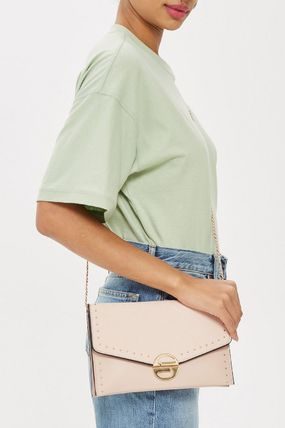 TOPSHOP クラッチバッグ 【国内発送・関税込】TOPSHOP★Candice Stud Clutch Bag(3)