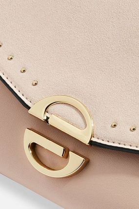 TOPSHOP クラッチバッグ 【国内発送・関税込】TOPSHOP★Candice Stud Clutch Bag(6)