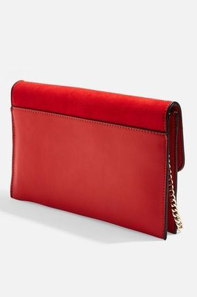 TOPSHOP クラッチバッグ 【国内発送・関税込】TOPSHOP★Candice Stud Clutch Bag(10)