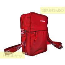 レッド☆ 18SS Supreme Cordura Nylon Shoulder Bag