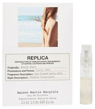 Maison Margiela 香水・フレグランス Maison Margiela*REPLICA Beach Walk EDT 1.2ml サンプルサイズ(2)