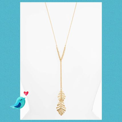 Kate Spade★a new leaf lariat pendant necklace★セール