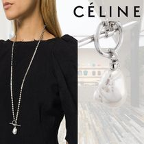 【18AW】★CELINE★真珠のペンダントチェーンネックレス