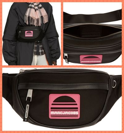 【MARC JACOBS】2018SS新作☆Black Sport Belt Pouch