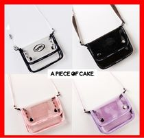 A PIECE OF CAKE(ピースオブケイク) ショルダーバッグ・ポシェット 18SS☆人気【A PIECE OF CAKE】☆ 2way Cross Bag ☆UNISEX☆