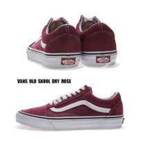 VANS★OLD SKOOL★DRY ROSE★兼用★バーガンディ