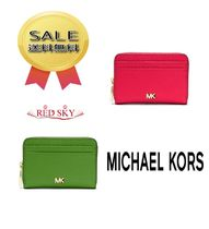 ★Michael KorsのMercer Small Pebbled Leather Wallet 2色☆