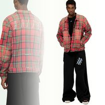 Off-White(オフホワイト)RED CHECKED JACKET チェックジャケット