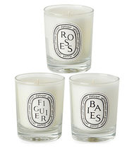 DIPTYQUE(ディプティック) キャンドル ☆DIPTYQUE Baies, Figuier and Roses mini candles 3 x 70g☆