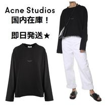 Acne 大特価!Lhynn cotton-jersey oversized sweatshirt 関税込